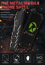 R-JUST Batman Metal Aluminum Shockproof Case Cover For iphone X & 10