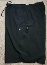 NIKE SPORTSWEAR-Black Poly/Spdx, Mens Athletic Fitness/Tennis Shorts-(XL)