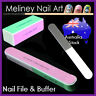 Nail File & Buffer Blocks Metal Emery boards Shine Ridge Smooth Nail art tool