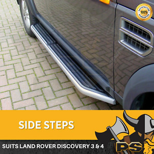 Side Steps to suit Land Rover Discovery 3&4 2004-2017 Running Boards