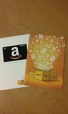 $20 Amazon Gift Card inside Amazon Boxes Greeting Card **Free Shipping**
