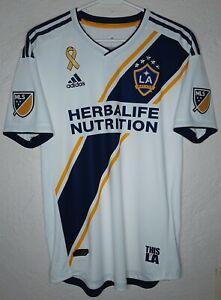 MLS LA Galaxy Adidas 2018 Zlatan Ibrahimovic Player Issue Home Soccer Jersey