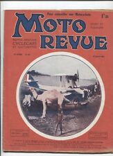 Moto Revue N°212 ; 15 janvier 1927 :  le moteur 4 soupapes latéral ANZANI