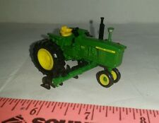1/64 ERTL custom John deere 4020 nf tractor w/ mtd row crop cultivator farm toy