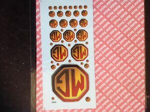 Colour Logo Car Sticker Decals