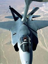 Military Air Craft fighter jet x35A joint strike carburant Poster Art Print bb920a