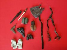 1/6 WW2 GERMAN WHERMACHT EQUIPMENT LOT FROM ROYAL BEST