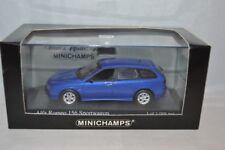 Minichamps 430 120715 Alfa Romeo 156 Bleu metallic  1:43 Perfect Mint.