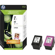 Original HP 62 Black & Colour Ink Cartridge For ENVY 5540 Inkjet Printer
