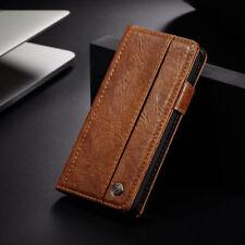 Handytasche Schutz Hülle Leder Wallet Case Für iPhone 5 6s 7 8 Plus XR XS Max