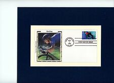 Honoring the Sport of Cycling & First Day Cover of the Cycling stamp