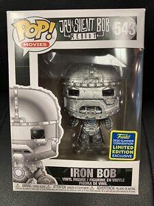 FUNKO POP #543 Iron Bob Iron Man Vinyl Mib POP Movies 2020 Summer Convention Exc