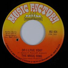 """THE MAGIC RING: Do I Love You? US Music Factory Garage Psych 7"""" 45 MP3"""