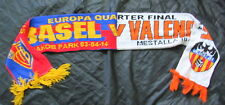 Valencia CF vs FC Basel 1893 UEFA Europa League Viertelfinale 2013/2014 Schal