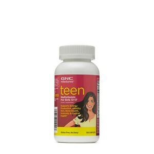 GNC Milestones Teen Multivitamin for Grils 12-17 120 Caplets