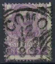 Italy 1901 SG#70, 50c Mauve Used Cat £18 Perf Shift Error #D8833