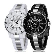 Reloj de pulsera Ohsen FG0736 para Hombre Clásico Luz De Fondo LED Acero Inoxidable deporte cuarzo