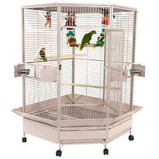 A&E Cage Company Llc Cc4242Platinum Extra-Large Corner Cage New