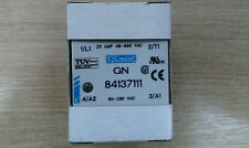 New Crouzet GN 84137111 solid state relay 25A,48 to 660vac, 90-280vac