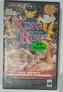 WWE - WWF King of the Ring 1993 Wrestling VHS Tape. R4.Ex Rental.Free post.