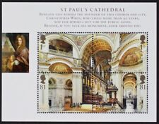 GR BRITAIN 2008 MS2847 Sc#2580 St. Paul's Cathedral Mini-Sheet, S/S Mint NH
