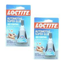 2 Pack Loctite Automotive Super Glue Gel No Drip Easy Application 18 Oz