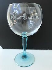 Bombay Sapphire Gin Balloon Glass - New & Unused