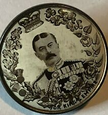 2nd Boer War Patriotic Badge Chief Of Staff  Earl Kitchener For King & Empire