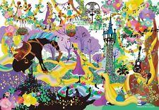 Tenyo Japan Jigsaw Puzzle DS-1000-772 Disney Tangled Rapunzel (1000 Pieces)