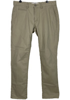 COUNTRY ROAD | Men's Zip Chino Pants | 5 Pockets | Beige | Size 32