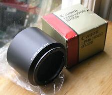 Genuine Canon FD Era BT-52B bt52b baïonnette Lens Hood utilisé