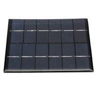 Mini 6V 2W DIY Solar Panel Module For Light Battery Cell Phone Charger 330m F9J8