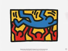 KEITH HARING -  UNTITLED  * RARE PRINT 1995