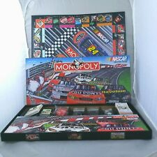 2002 Parker Brothers Game MONOPOLY Nascar Collector Edition (No instructions)