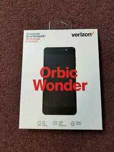 Orbic Wonder Verizon Prepaid and Postpaid 4G Phone