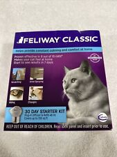New listing Feliway Classic 30 Day Starter for Cats Plug In Diffuser & Refill 48 ml #1272