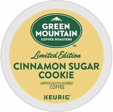 Green Mountain Cinnamon Sugar Cookie Coffee 24 to 144 Keurig Kcup Pick Quantity