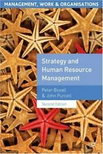 Strategy and Human Resource Management (Management, Work and Organisations),Pet