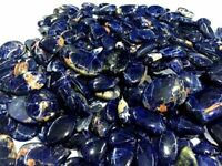 NATURAL BLUE SODALITE MIX CABOCHON LOOSE GEMSTONE LOT