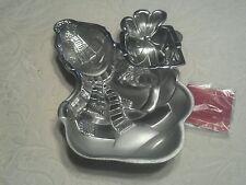 Lenox Yuletide Metal Christmas Xmas Snowman Chip & Dip Bowl Platter