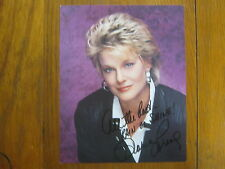 GLORIA  LORING   Facts of Life/Days of our Lives  Signed   8 X 10  Color   Photo