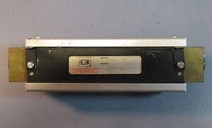 Brooks Instrument 1110-01F1G1B Up To 550PSIG at 200°F Flowmeter Used