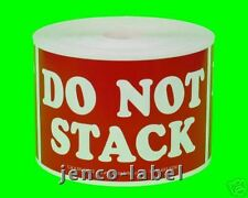 ML23110, 500 2x3 Do not Stack Labels/Stickers