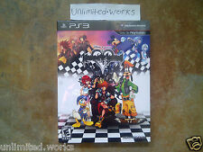 Kingdom Hearts HD 1.5 Remix Limited Edition + Art Book PS3 Brand New