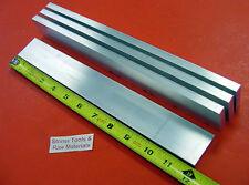 "4 Pieces 3/8"" X 1-1/2"" ALUMINUM 6061 FLAT BAR 12"" long T6511 Solid Mill Stock"