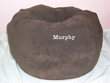 Snuggle Ball Dog Bed Suede Small Choose Color Name Personalized+ Made in the Usa