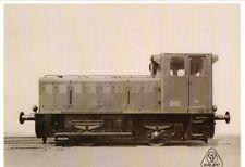 Ansichtskarte: Krupp - Diesellokomotive für den Werkbahnbetrieb 1954