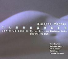 Wagner: Tannhäuser (Gesamtaufnahme) von Peter Seiffert (Te...   CD   Zustand gut