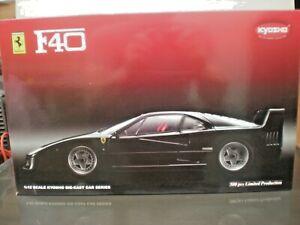 KYOSHO  08602BK Ferrari F40 Black 'Limited Edition' of only 500  1:12