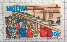 Nigeria stamps - Modern Post Office  50 kobo 1986